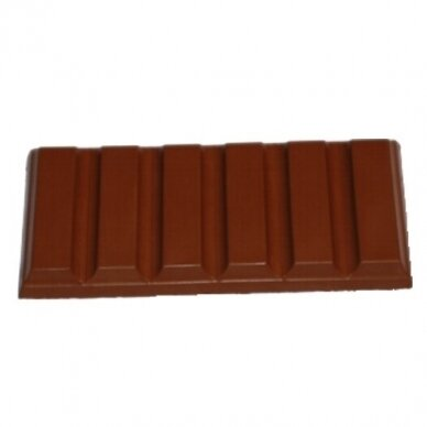 Forma šokolado plytelei (5vnt.)