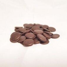Juodas šokoladas couverture 62% (5 kg)