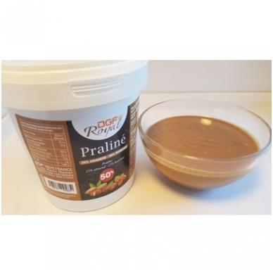Lazdynų - migdolų riešutų praline 50% (1 Kg.) 2