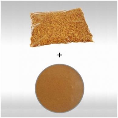 """migdolo - lazdyno riešutų praline 50% (1 Kg.) + biskvitinis traškutis """"Royaltine"""" (500gr.)"""
