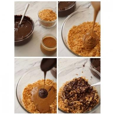 """migdolo - lazdyno riešutų praline 50% (1 kg) + biskvitinis traškutis """"Royaltine"""" (500 gr) 2"""