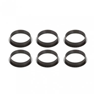 Perforuoti tartalečių žiedai (Ø 8 CM) (6 vnt.) 2