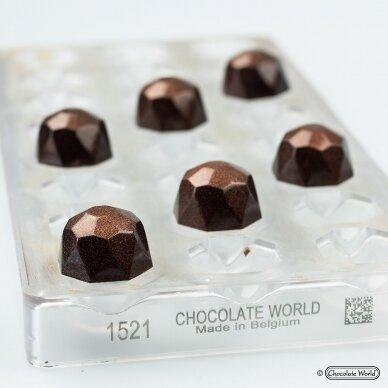 Pradedančiojo rinkinys gaminti šokoladinius saldainius 2