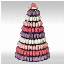 """Prancūziškų migdolinių pyragaičių """"macarons"""" stovas (46 CM)"""