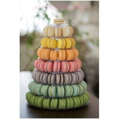 """Prancūziškų migdolinių pyragaičių """"macarons"""" stovas (46 CM) 3"""