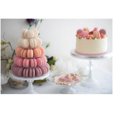 """Prancūziškų migdolinių pyragaičių """"macarons"""" stovas (46 CM) 4"""