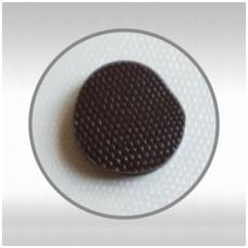 Reljefinių lapų rinkinys šokoladui