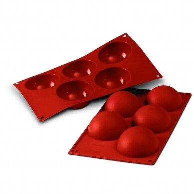 "Silikoninė forma ""5 Demi spheres"""