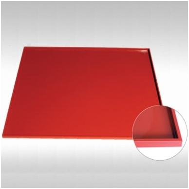 Silikoninis kilimėlis biskvitui su borteliu (42,2 x 35,2CM / 8mm aukštis)