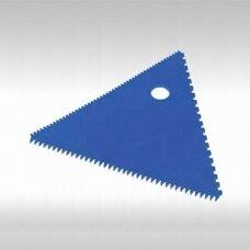 Trikampės dekoravimo šukos (20 x 20 x 20 cm)